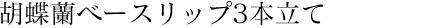 胡蝶蘭ベースリップ3本立て